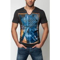 Pánske tričko GS83 - grafit