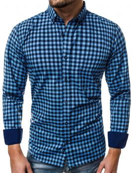 Pánska košeľa V13 modrá M