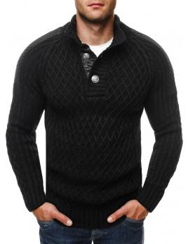 Pánsky sveter EL45 - čierny M
