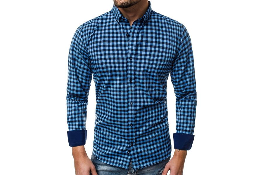 4eafbeef25c7 Pánska košeľa V13 modrá 3XL