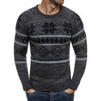 Pánsky sveter MD12 - šedý