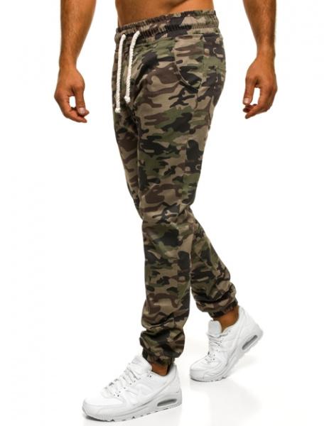 f51f1986f82e Pánske maskáčové nohavice ATH - zelené XL. Hodnotenie  0 5
