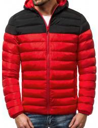 Pánska zimná bunda JS17 červená XXL