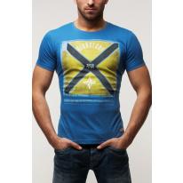 Pánske tričko GS76 - modré