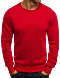 Pánska mikina JS01 - červená L