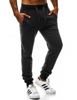 Pánske tepláky J.Style W01 čierne XL