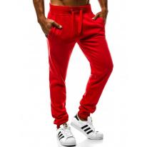 Pánske tepláky J.Style W01 červené