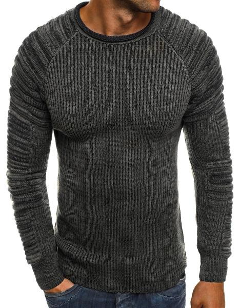 9448f8eef08f Pánsky sveter MD35 - tmavošedý M