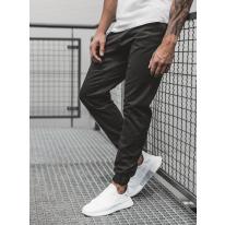 Pánske chino nohavice - joggery O/399 čierne