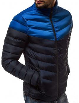 Pánska bunda M01 tmavomodrá L