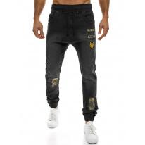 Pánske jeansy OT6 - čierne