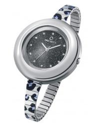 Dámske hodinky OPS! LUX METAL GLAM - strieborné