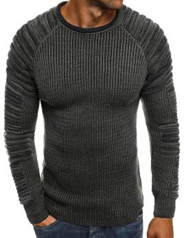 Pánsky sveter MD35 - tmavošedý M
