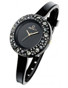 Dámske hodinky OPS! STARDUST - čierne