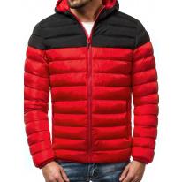 Pánska zimná bunda JS17 červená