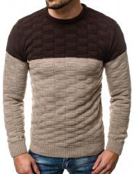 Pánsky sveter ER06 béžový M