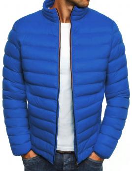 Pánska zimná bunda ST05 - modrá L