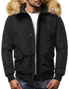 Pánska zimná bunda JS19 čierna L