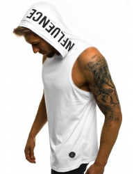 Pánske tričko MD7 - biele S
