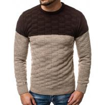 Pánsky sveter ER06 béžový