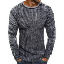 Pánsky sveter MD35 - tmavomodrý