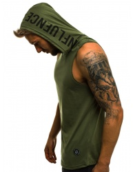 Pánske tričko MD7 - zelené M