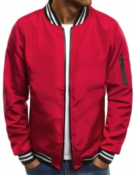 Pánska bunda JS/HS02 červená L