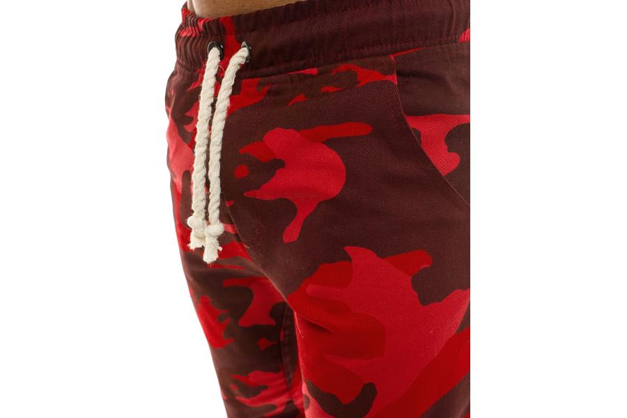 ecf122b51b Pánske maskáčové nohavice ATH - červené M. Hodnotenie  0 5