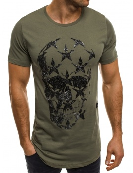 Pánske tričko BR31 - zelené L