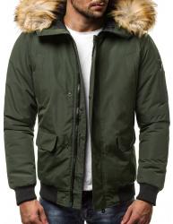 Pánska zimná bunda JS19 zelená M